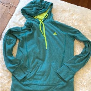 Adidas size small ultimate hoodie.  Gently used.